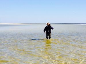 Mike Miller on Lanark Reef