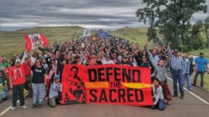 Standing Rock, image from Huffington Post